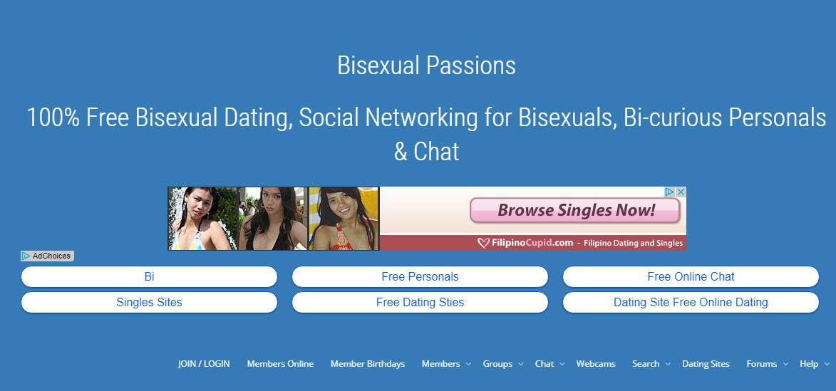 Bisexual dating website free